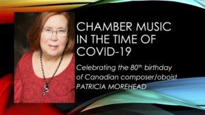 Pat Morehead's 80th Birthday Concert at Koerner Hall
