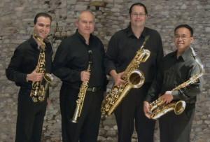 "Athens Saxophone Quartet performs Morehead ""Event Horizon"""